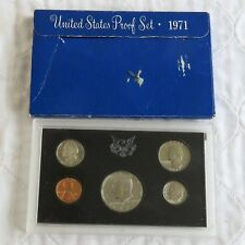 USA 1971 s 5 COIN PROOF YEAR SET - sealed/outer