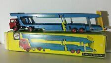 Siku Super Serie V 275 Magirus Deutz Autotransporter mit OVP Anno 1967-73