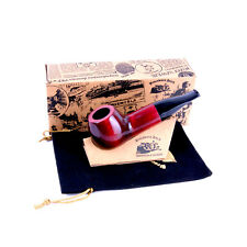 Mr. Brog Producer Tobacco Workshop New Handmade Pipe no. 34 Bulldog, Cherry