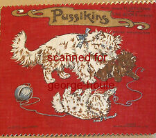 Dean'S Rag Book - Pussikins - No 101 - Cloth Book - Cats & Kittens