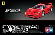 Tamiya 24296 1/24 Scale Super Sport Car Model Kit Ferrari F50 Red