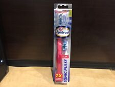 Spinbrush Sonic Pulse 2X Plaque Removal Powered Toothbrush Soft Slim New In Box