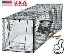 "Us Raccoon Skunk Poss Humane Animal Trap 31""x12""x12&#034 ; Cage Rabbit Cat Live Rodent"