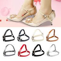 Metal Tip Ankle Shoe Belt Bundle Shoelace High Heels Holding Anti-skid Straps