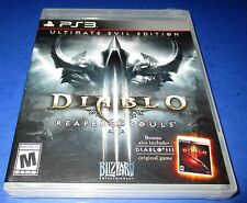 Diablo III: Reaper of Souls -- Ultimate Evil Edition PS3  *New-Sealed-Free Ship!