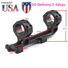 """US 30mm 1"""" Cantilever Scope Mount  Bubble Level Picatinny Rail Tactical Optic"""