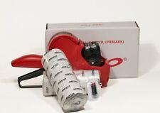Meto Primark, Pricegun, 1 Line/ 6 Digit + Free box white labels + ink roller