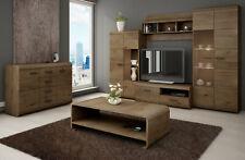 Oak Lefkas Living Room Furniture Set LENA/ Wall Unit / Sideboard / Coffee Table