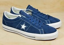 19b890fb993fc4 Converse One Star Suede Skate Blue White Mens Sz 11.5 Shoes 149867C NEW