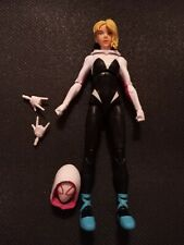 GWEN STACY Into the Spider-verse Marvel Legends no Stilt-man BAF