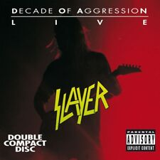 SLAYER - LIVE: DECADE OF AGRESSION 2 CD NEUF