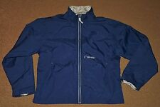 Youth Boys NIKE Packable Fold-Up Blue Silver WINDBREAKER Jacket Size L Large 14