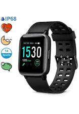 Glymnis Smart Watch Fitness Tracker 1.3'' Color Touchscreen 5ATM Waterproof 14
