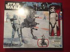 "Star Wars 12"" Riot Control Stormtrooper Figure & Assault Walker Vehicle NEW MIB"