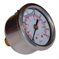 Sytec Fuel Injection Pressure Gauge 1/8npt POWER BOOST VALVE MSV SAR REGULATOR