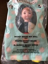 2004 MCDONALDS MADAME ALEXANDER #4 MICKEY MOUSE BOY DOLL WHITE HAPPY MEAL SEALED