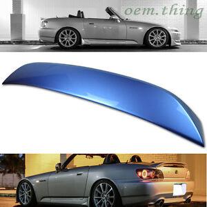 2009 Fit FOR HONDA S2000 Rear Trunk Spoiler OE Painted #B513M Suzuka Blue Met