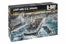 Italeri It6524 LCVP W/us Infantry kit 1 35 Modellino
