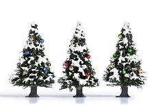 Busch 6464 (HO): Bomen: 3 Besneeuwde kerstbomen