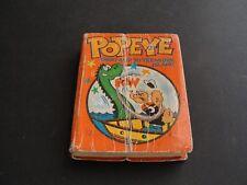 POPEYE GHOST SHIP TO TREASURE ISLAND by Paul S. Newman-1975 BIG LITTLE BOOK.
