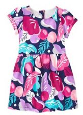 New Girls Gymboree Dress Floral Short Sleeve Back To Blooms Flowers Nwt Size 5