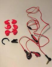 Monster iSport Intensity Headphones (Pink) w/ ControlTalk - Pre owned