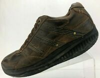 Skechers Shape Ups XT Walking Shoes Mover Brown Fitness Workout Trek Mens 10.5