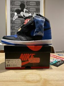 Nike Air Jordan 1 Retro High OG Royal 2017 Release Sz 9.5 Shoes Bred Chicago 85