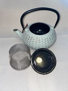 Cast Iron Tea Pot Light Green Color (World Market)