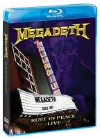 New: MEGADETH - Rust in Peace Live - Blu-ray w/ Behind-the-Scenes Footage