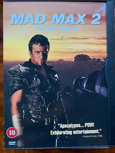 Mad Max 2 DVD 1981 Road Warrior Action Movie Classic UK dvd in Snapper Case