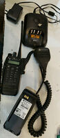 Motorola XPR6550 UHF Two-Way Radio with Antenna AAH55TDH9LA1AN 450-512MHZ