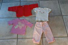 tee shirt 6/ 12 mois Gap + veste 1 an Alphabet pour fille