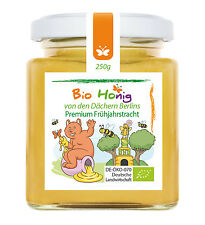 250g BIO HONIG - Frühjahrstracht (Premium Stadthonig) - Bienenhonig aus Berlin