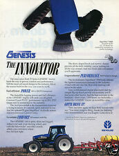 1995 Ford New Holland Genesis 8870 FWD The Innovator Farm Tractor Print Ad