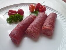 (14,90€/kg) 1 Kg  Rinderrouladen vom Charolais  /Limousin Jungbullen