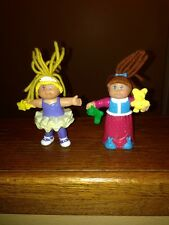 2 Vintage McDonald's Happy Meal Cabbage Patch Kids Figures 1992