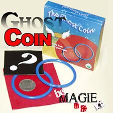 Ghost coin - Anneaux Velvet - Disparition de pièce - Tour de magie