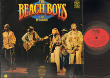 BEACH BOYS LIVE in LONDON 1970-1976 LP Record MINT England MFP