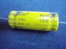 Monacor Condensateur 180uf 35v AC fréquences 13467