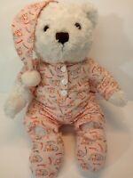 "12"" The Cheesecake Factory Bear HTB Herrington Teddy Bears Plush Stuffed Animal"