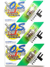 OS O.S. Type F 4 Four Stroke Nitro RC R/C Engine Glow Plug - 3 Pack 71615009