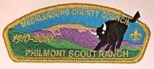 Mecklenburg County Philmont 2010 SA-22 Council Strip Patch (CSP) $50-$60 Value