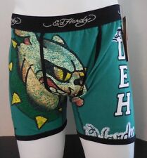Ed Hardy Men's Athletic Bulldog Vintage Boxer Briefs Size Small New