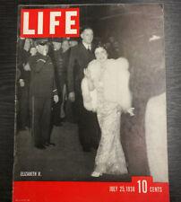 LIFE Magazine, July 25th 1938