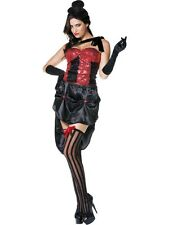 Busty Burlesque Costume L 16/18 Can Can HALLOWEEN CLEARANCE** Ladies Fancy Dress