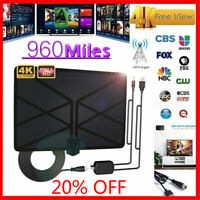 960 Mile Range Antenna TV Digital HD Skywire 4K Antena Digital Indoor HD 1080p W