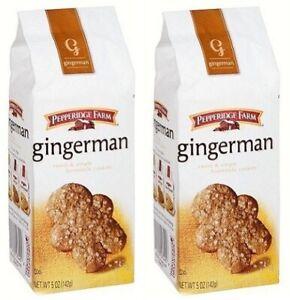 Pepperidge Farm Gingerman Sweet & Simple Cookies 2 Bag Pack