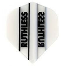 3 Sets (9 Flights) Ruthless - WHITE/CLEAR Standard - Free Shipping 1704