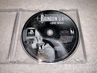 Rainbow Six: Lone Wolf (PlayStation 1, 2002 PS1 Tom Clancy Game in Plain Case Ex